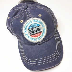 NWT Robin Ruth Nashville trucker baseball hat blue